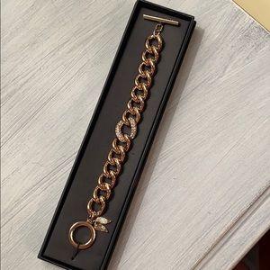 Victoria's Secret Gold Toggle Bracelet